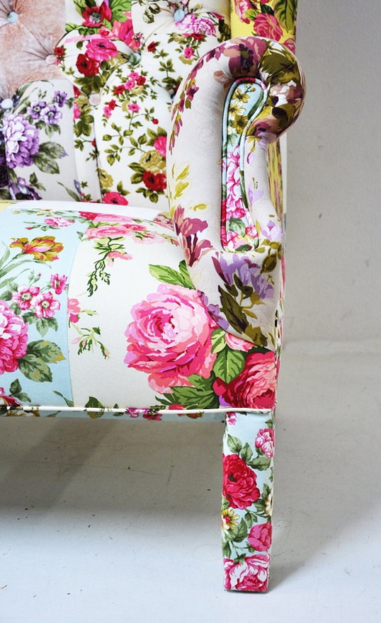 Floral-print-on-white-background