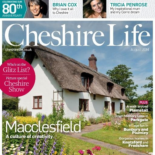 cheshire life august 2014