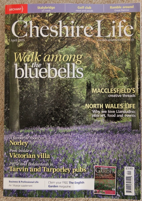 Featured in Cheshire Life Magazine